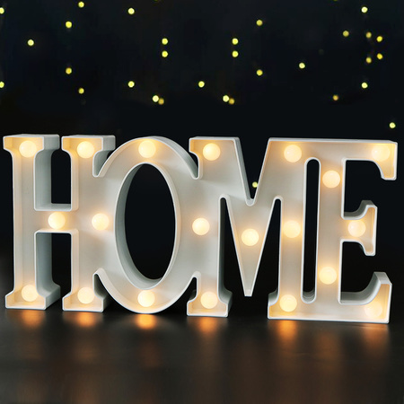 Bright Zeal   Large Home Led Letter Marquee Sign Hr Timer Letter Marquee Light Battery Operated Light Up Signs For Wall Decor Home Decor Accents