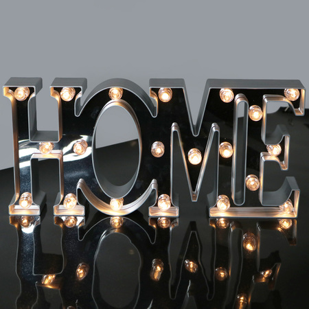 Bright Zeal 7 5 Large Home Led Letter Marquee Sign 6hr Timer